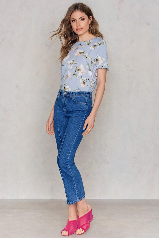 Panel Culotte Jeans NA-KD.COM