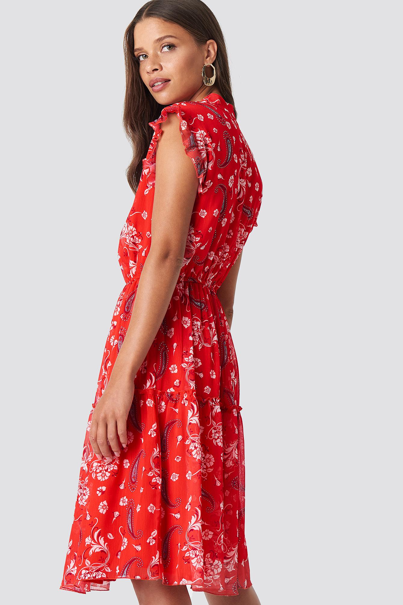 Sukienka z nadrukiem NA-KD.COM