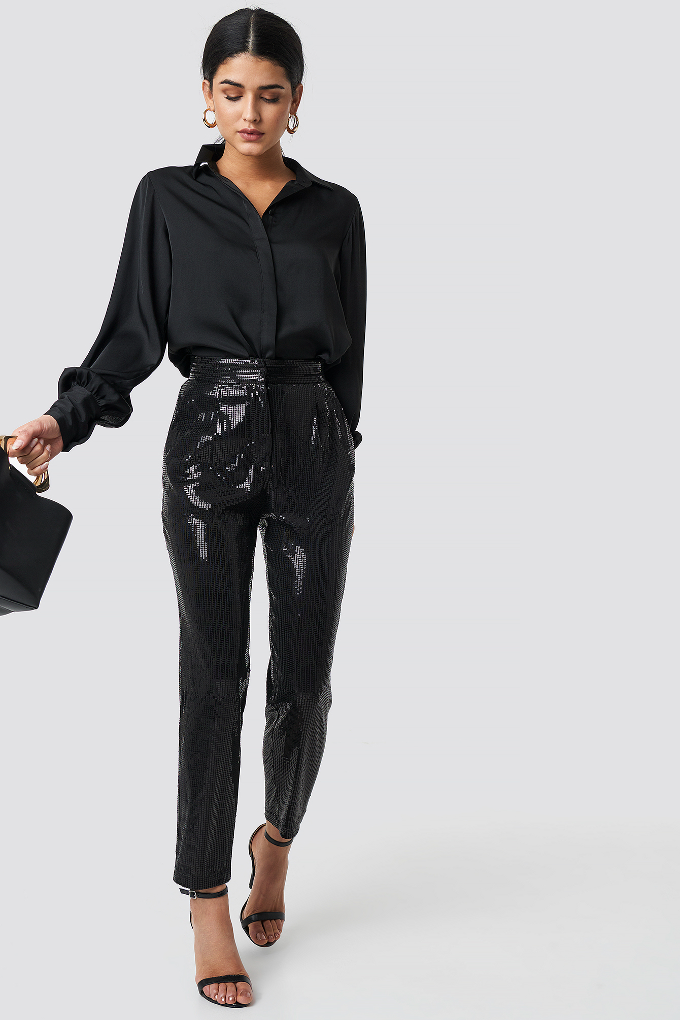 Payet Cropped Pants NA-KD.COM
