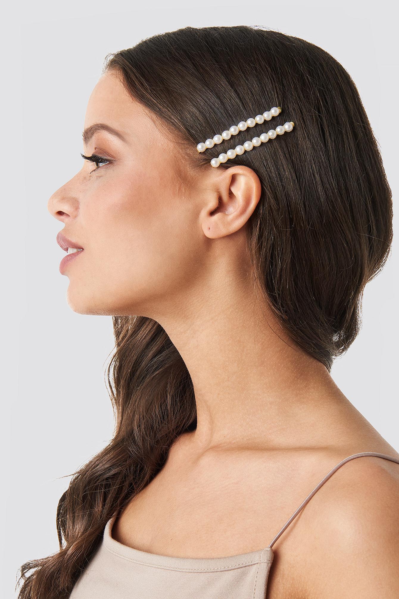 Pearl Hairclip 2-Pack NA-KD.COM
