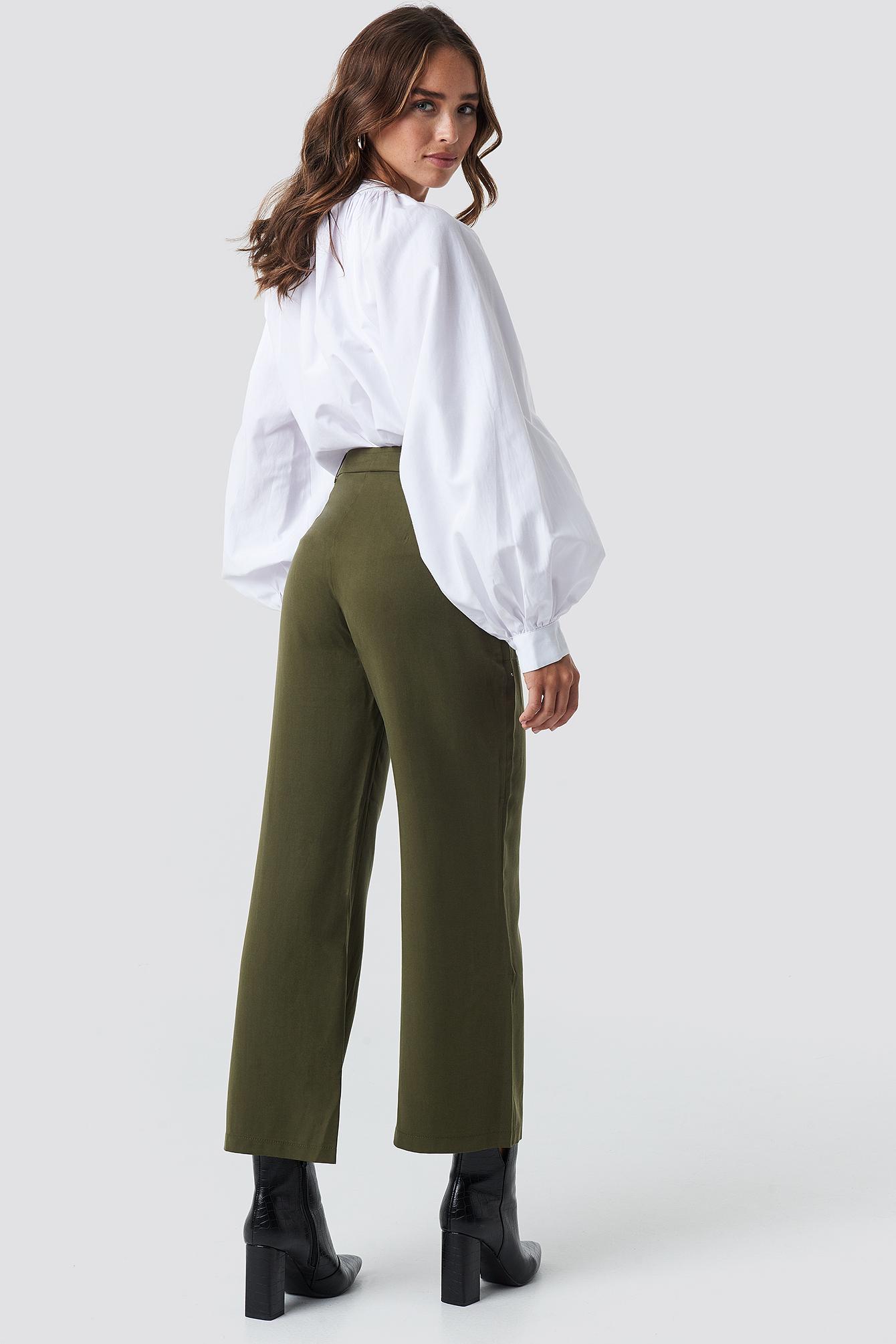 Pocket Detailed Pants NA-KD.COM