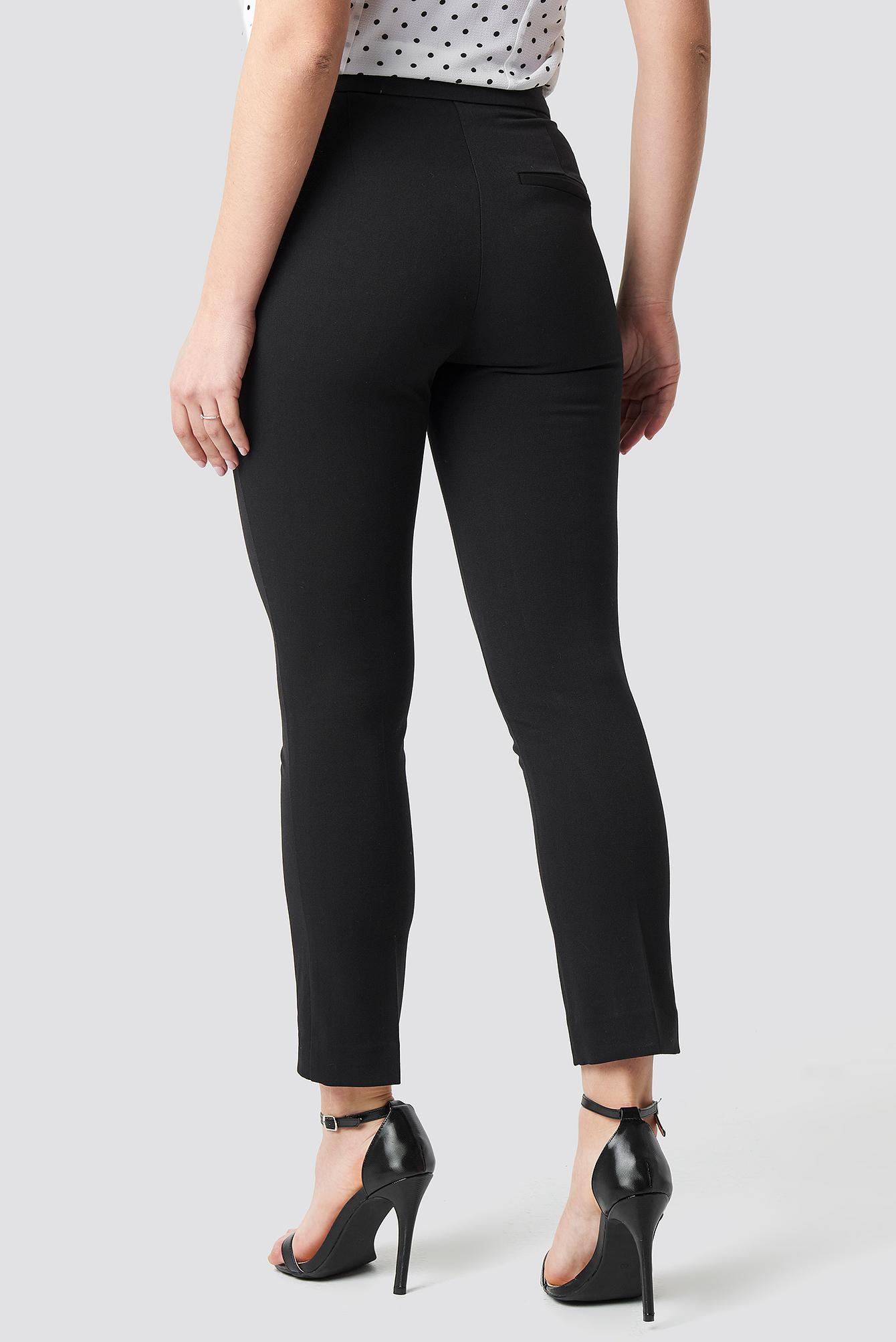Pocket Ruffle Detailed Trousers NA-KD.COM