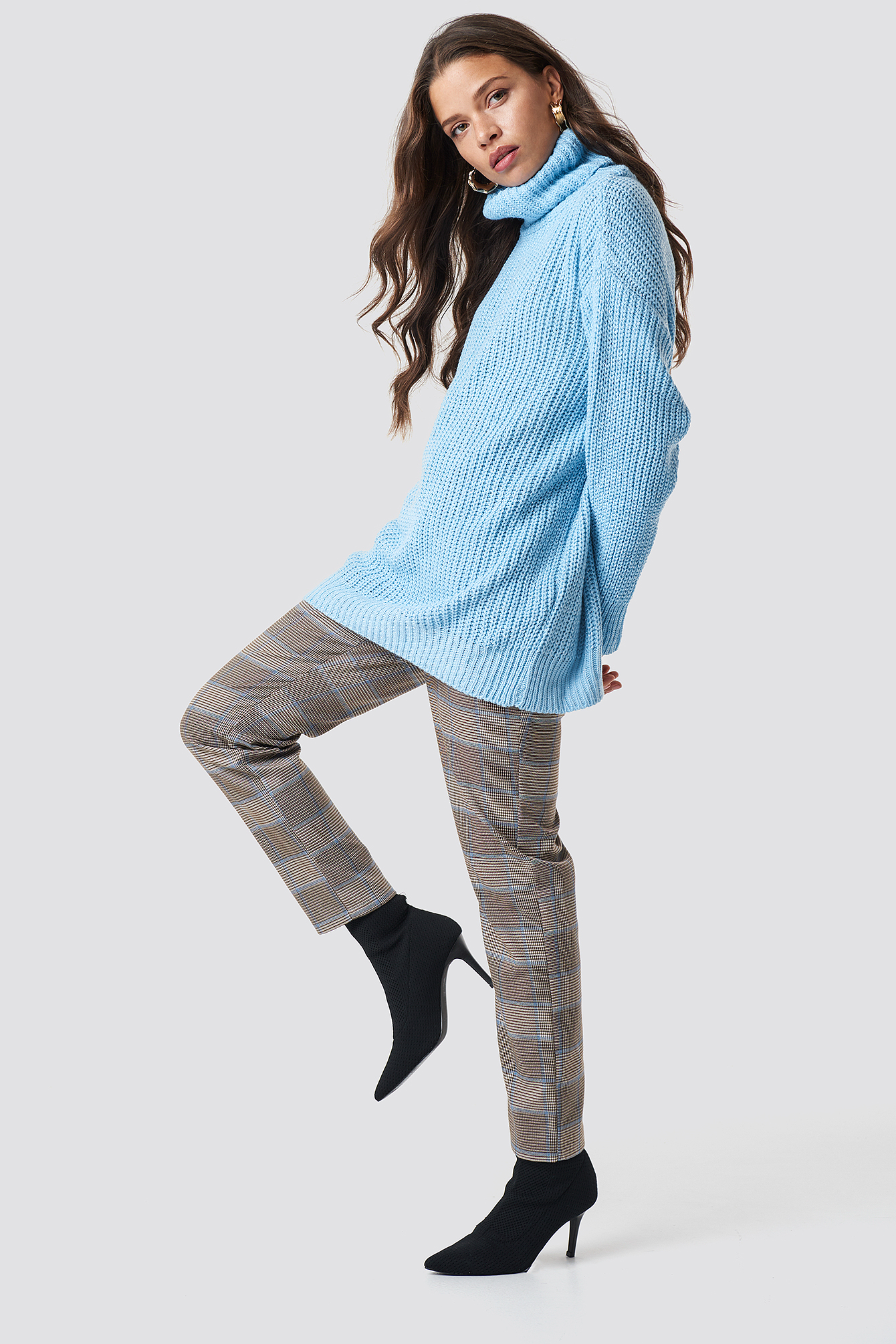 Polo Knitted Sweater NA-KD.COM