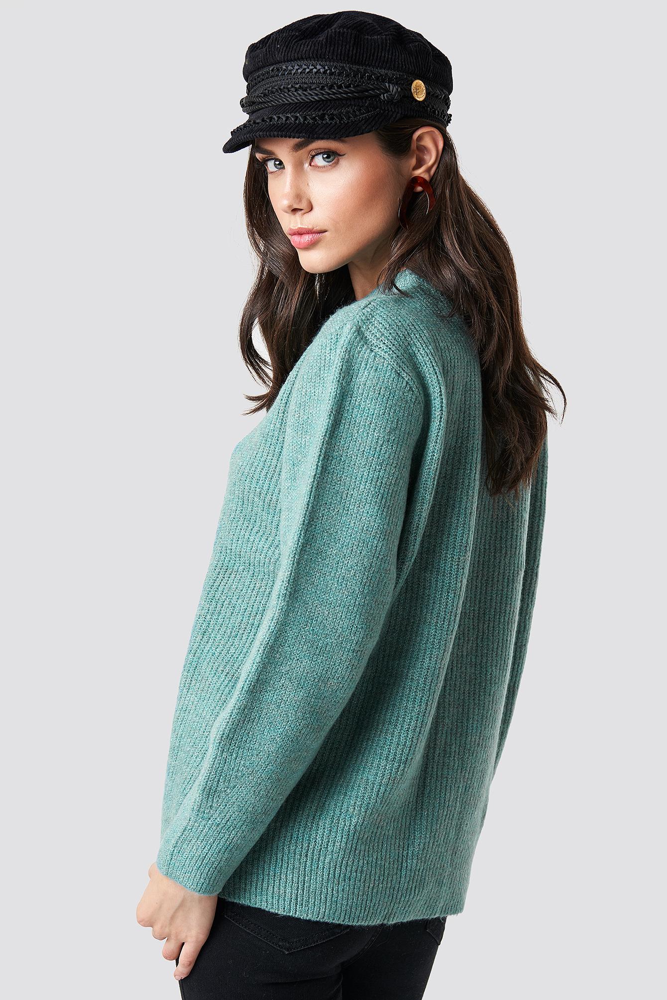 Powder Collar Sweater NA-KD.COM