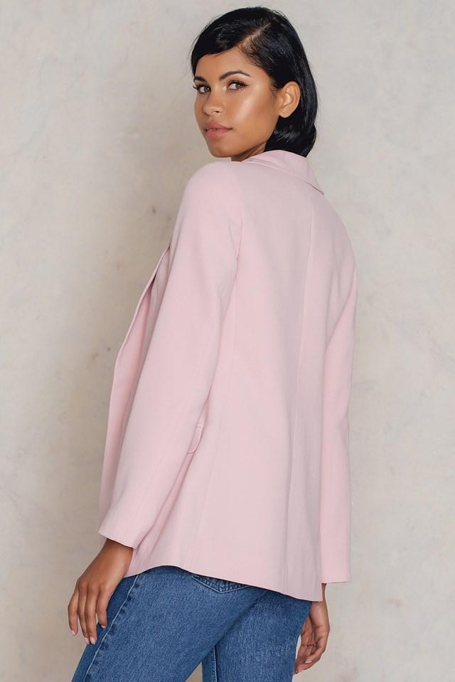 Pudra Blazer Powder Pink