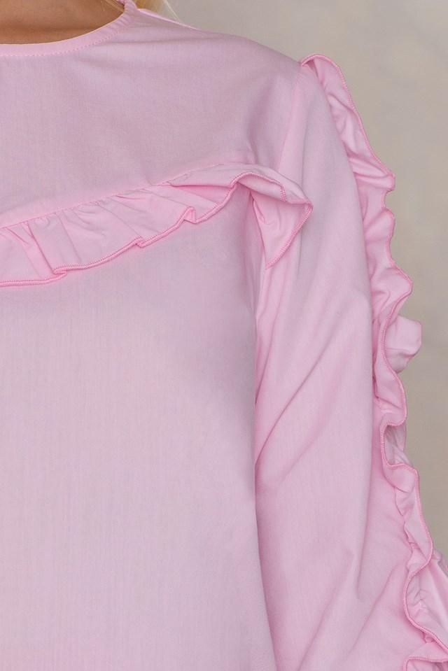 Pudra Blouse Powder Pink