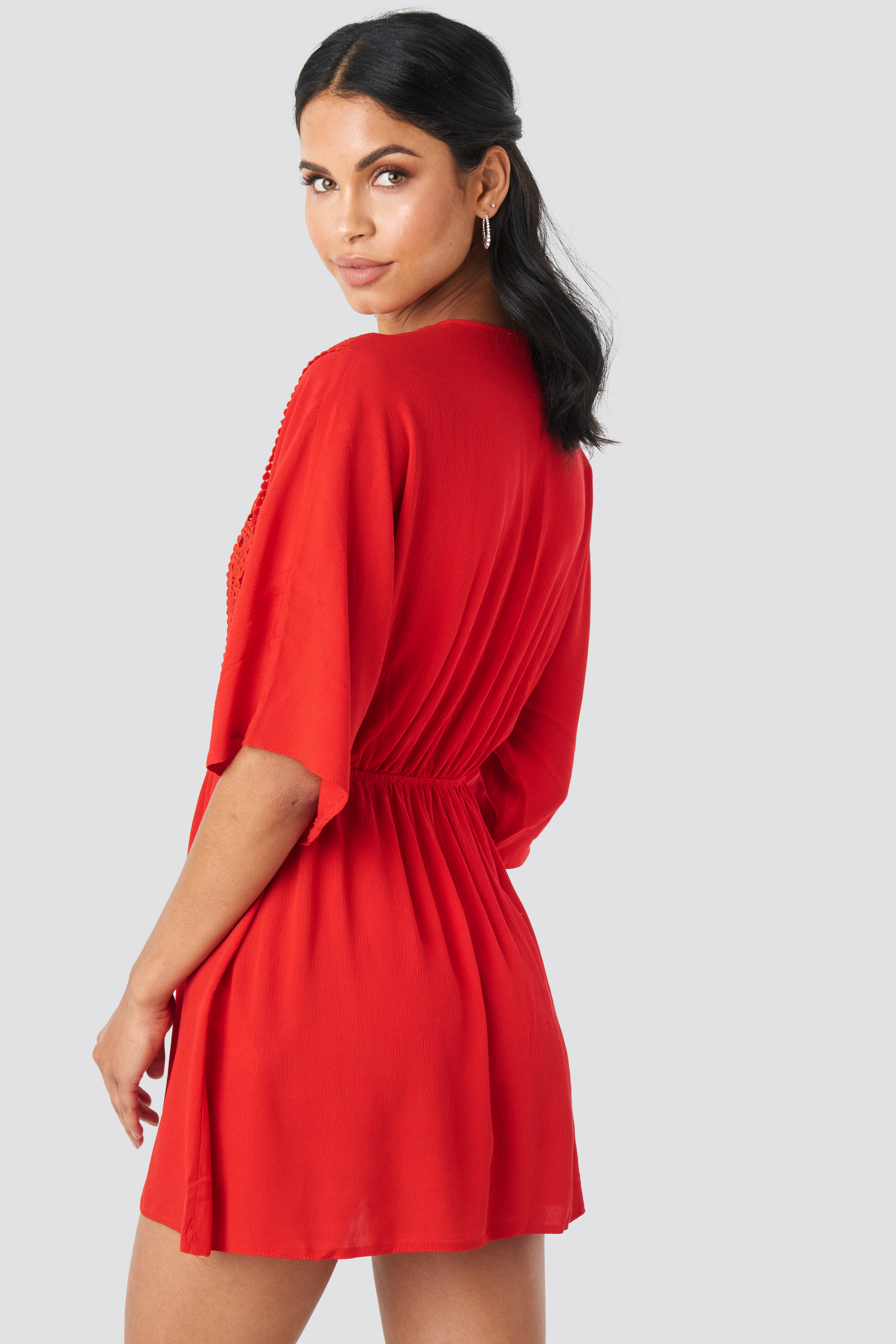 Ribbon Accessory Detailed Dress NA-KD.COM
