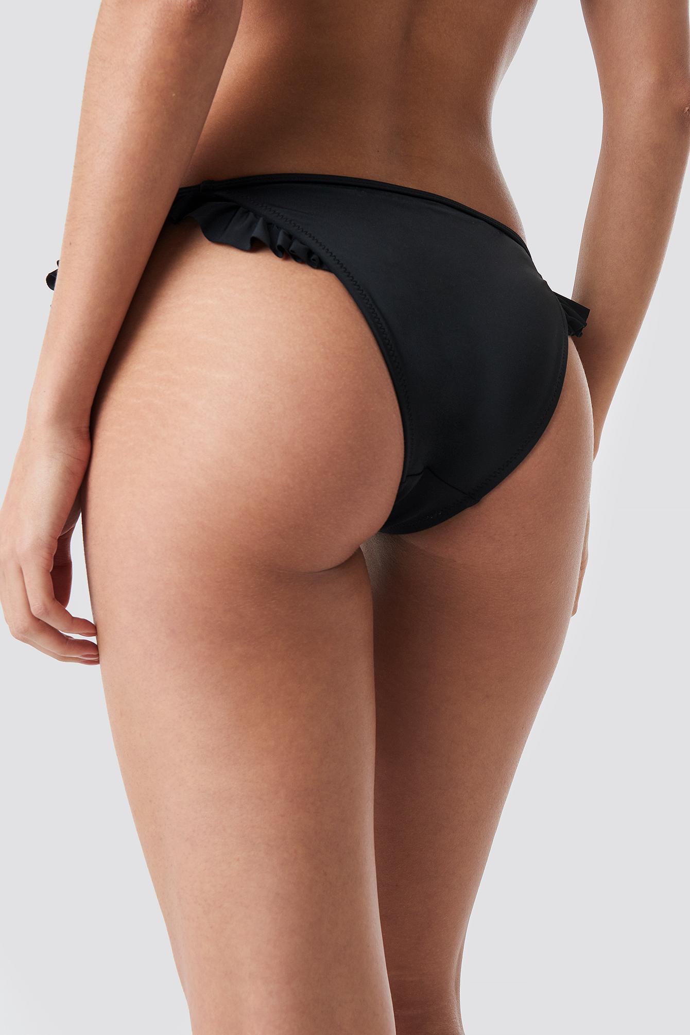 Ruffle Detailed Bikini Bottom NA-KD.COM