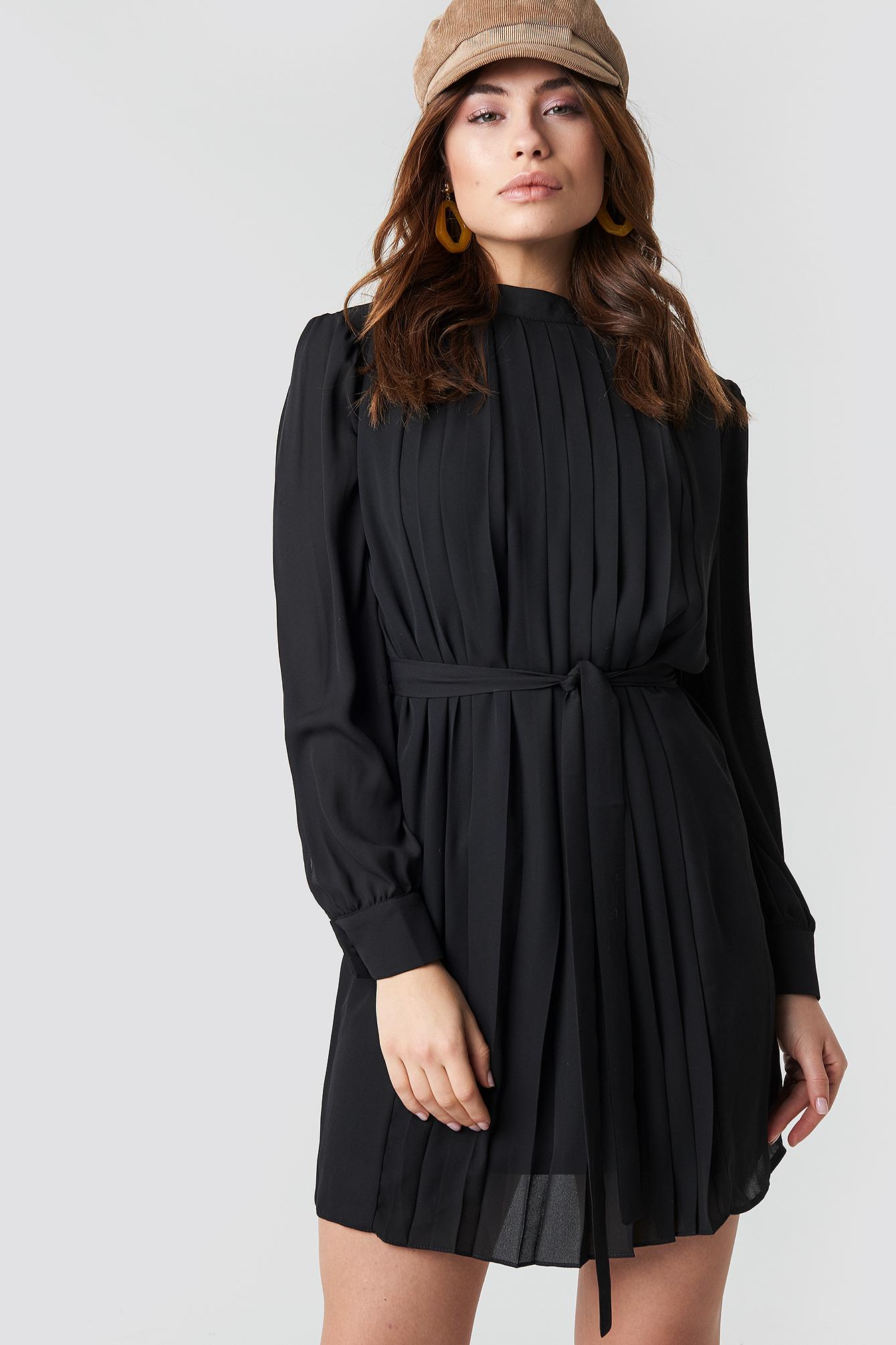 Ruffle Detailed Mini Dress NA-KD.COM