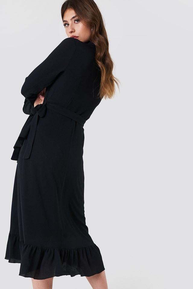 Ruffle Shirt Dress NA-KD.COM