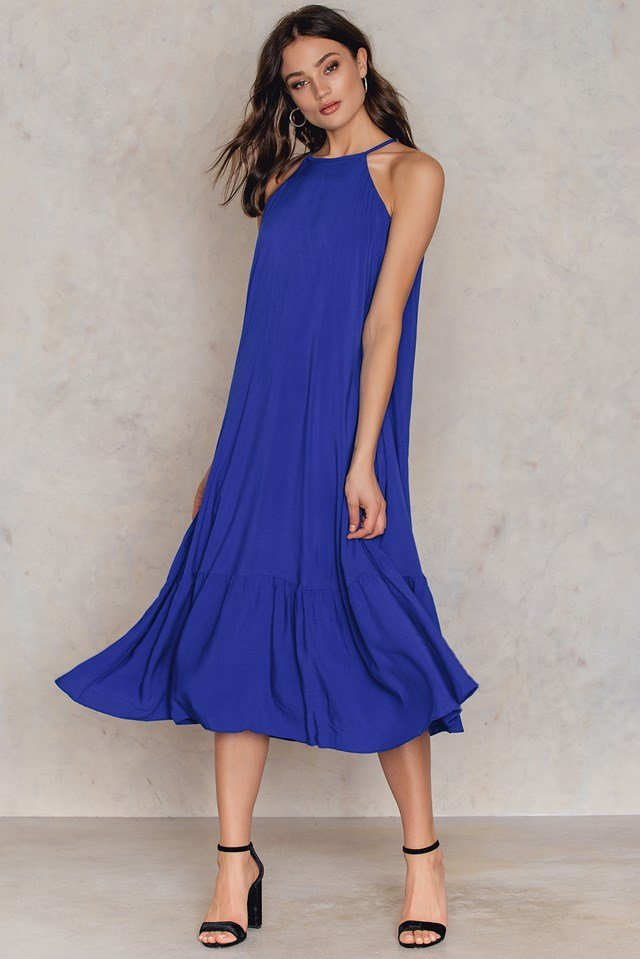 Saks Maxi Dress Royal Blue