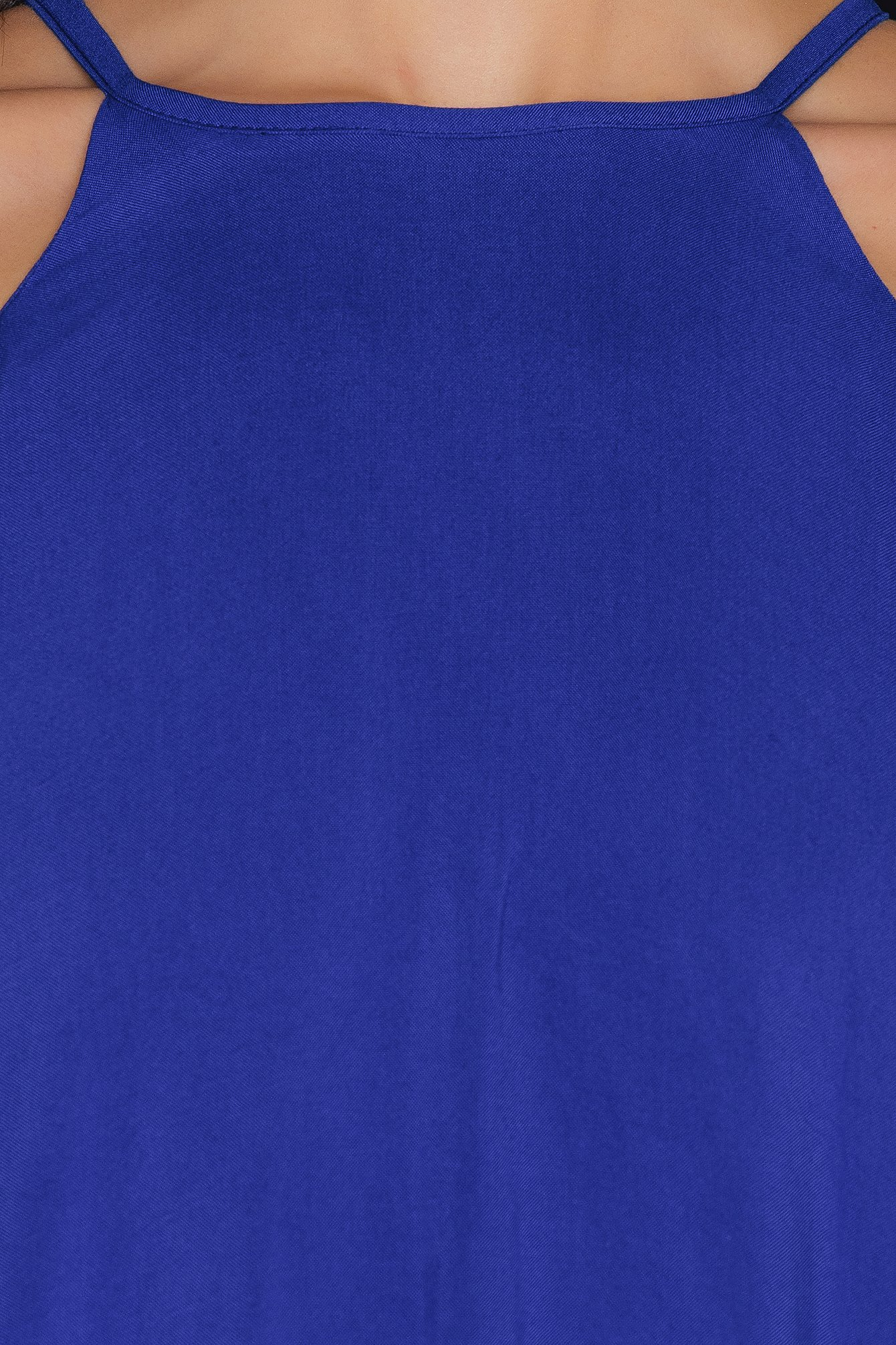 Royal Blue Saks Maxi Dress