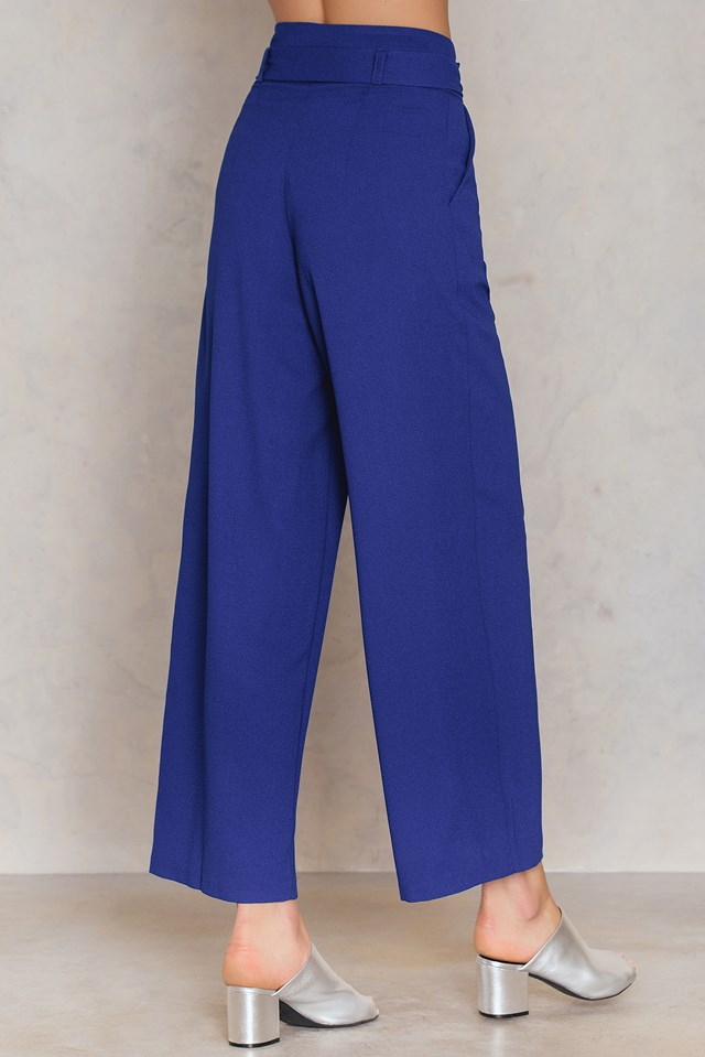 Saks Pants Royal Blue