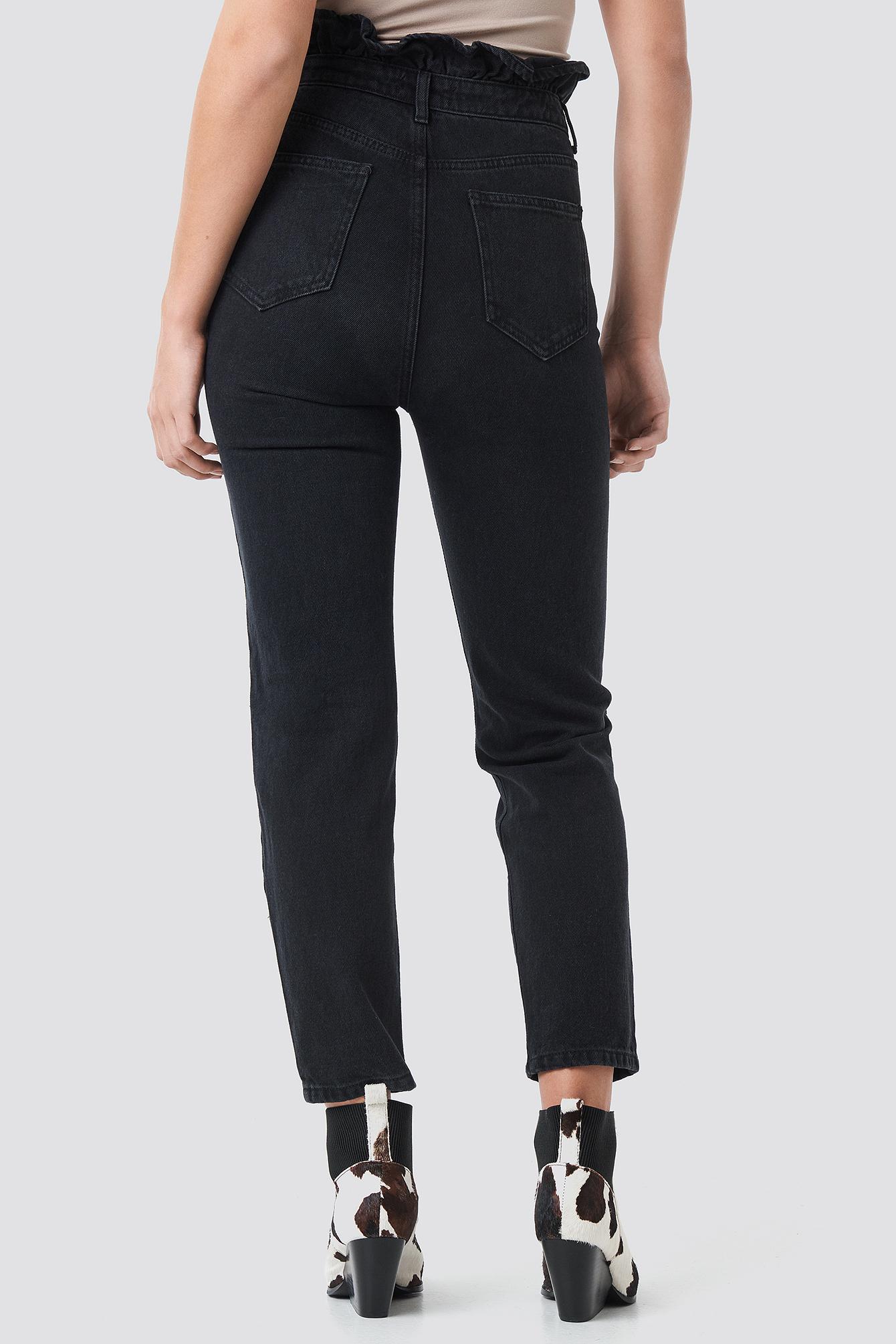 Shaper Detail High Waist Mom Jeans NA-KD.COM