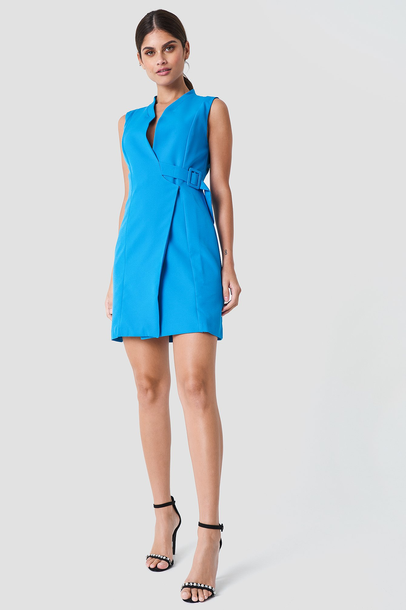 Side Belt Dress NA-KD.COM