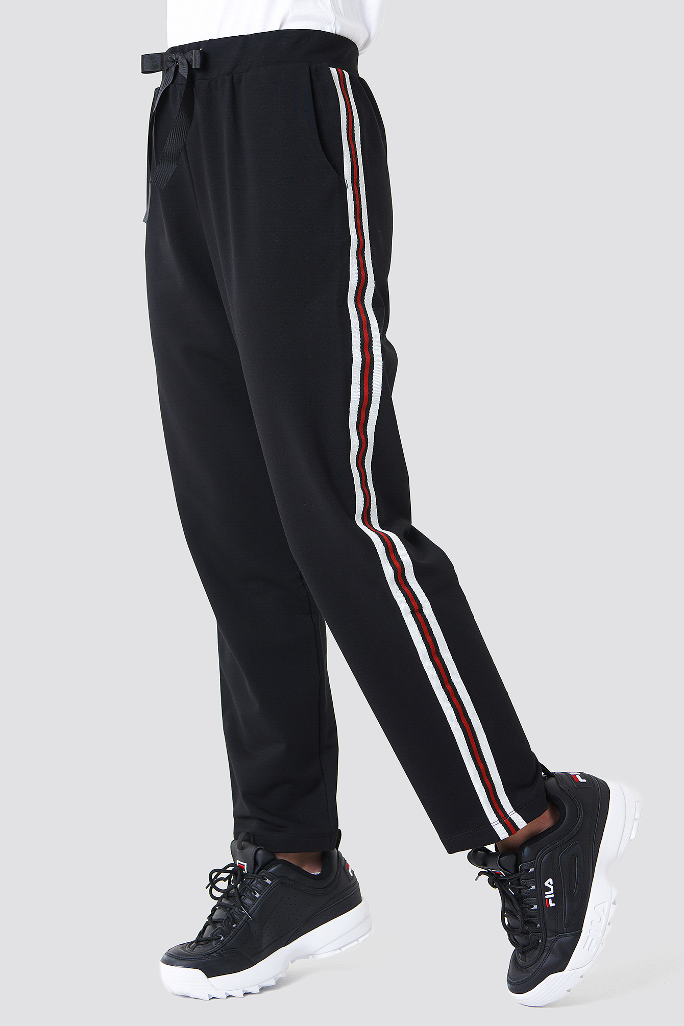 Side Stripe Jogger Pants NA-KD.COM