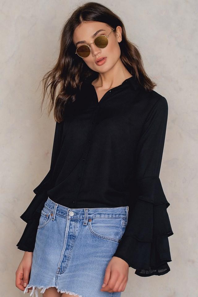 Siyah Shirt Black