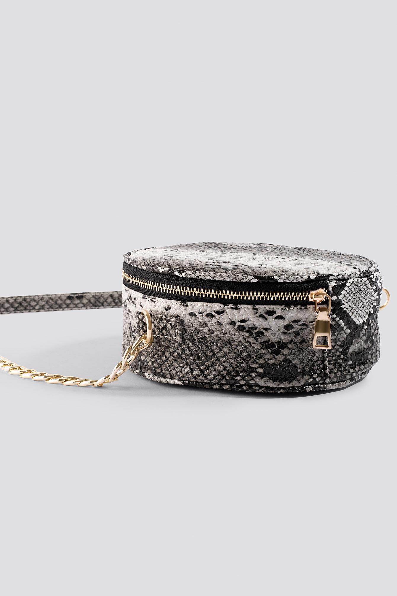 Snake Patterned Shoulder Bag NA-KD.COM