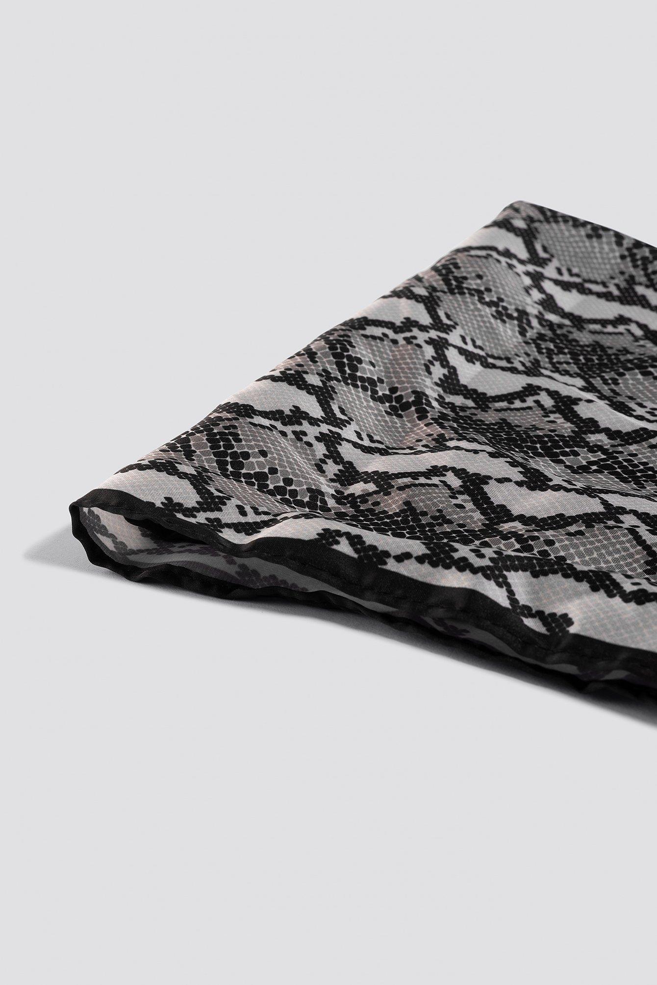 Snake Skin Patterned Scarf NA-KD.COM