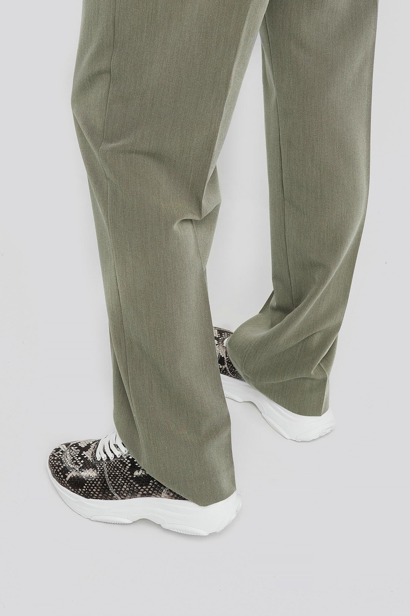 trendyol -  Snake Sneaker - Grey
