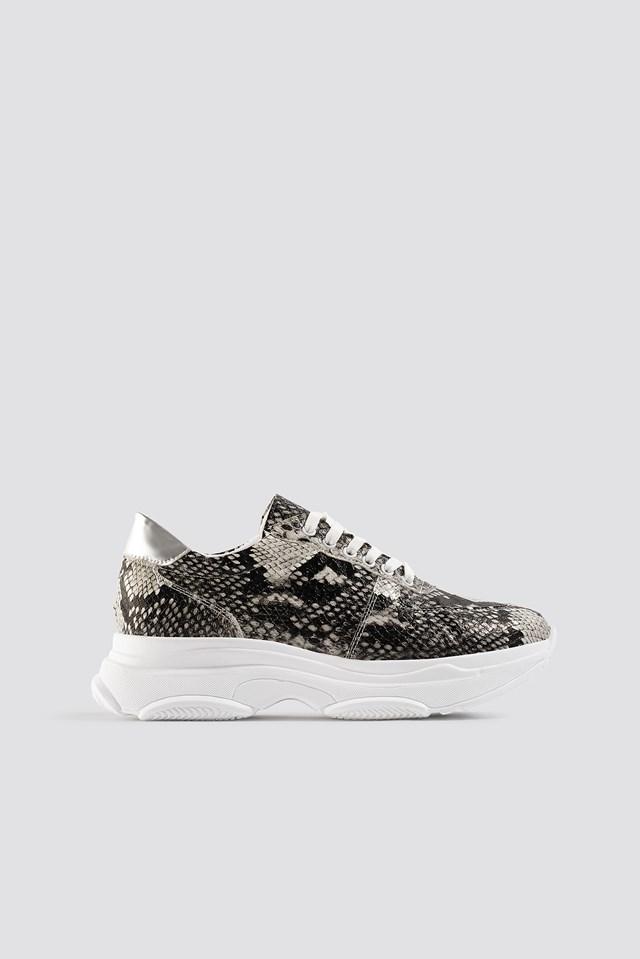 Snake Sneaker Grey