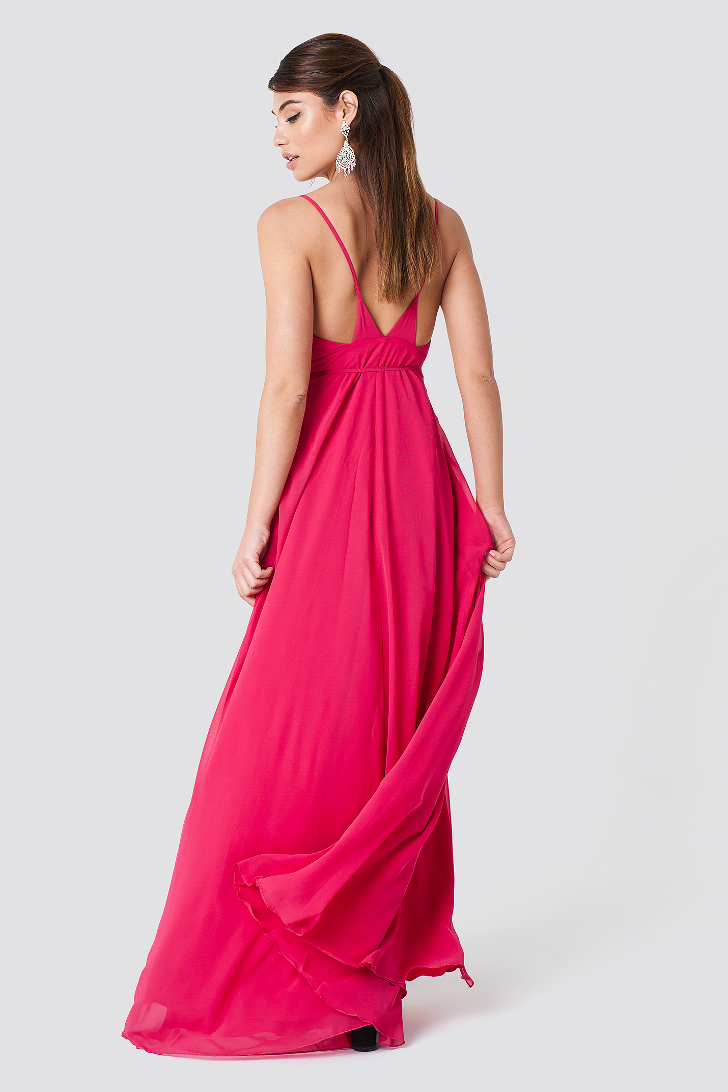 Spaghetti Straped Maxi Dress NA-KD.COM