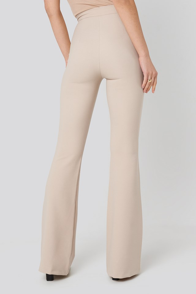 Spanish Hem Trousers Stone