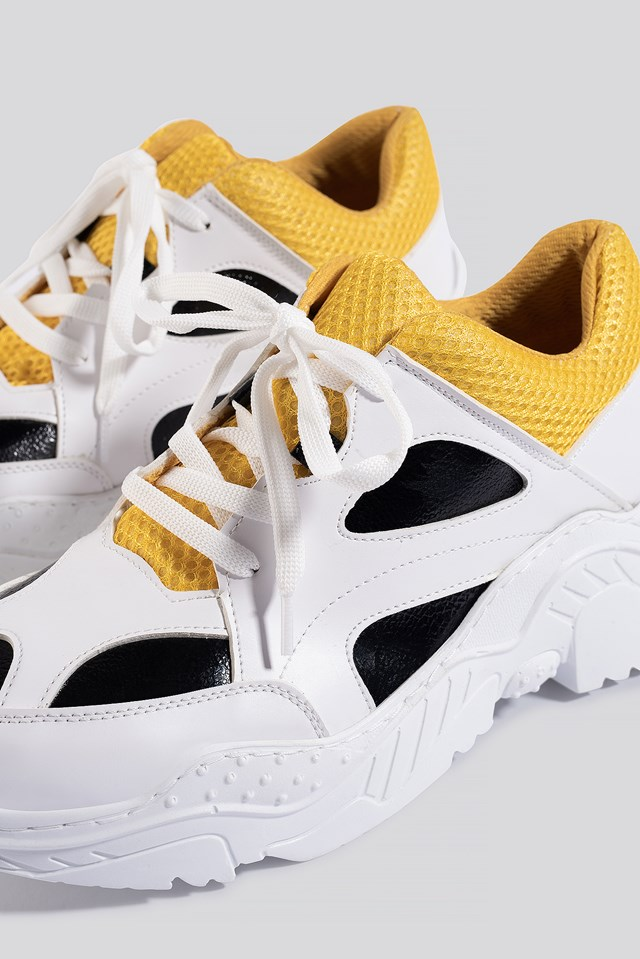 Sporty Sneakers White