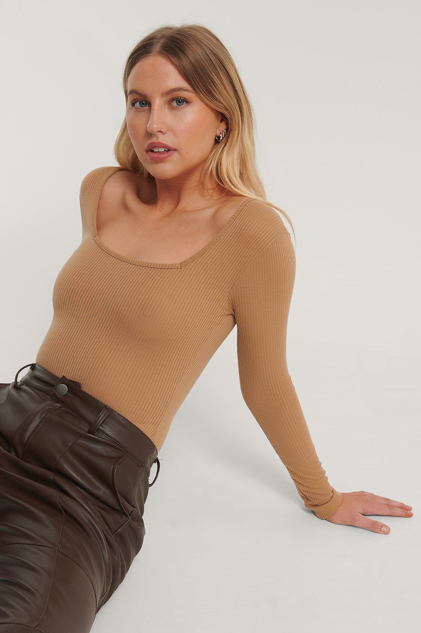 trendyol -  Body - Brown