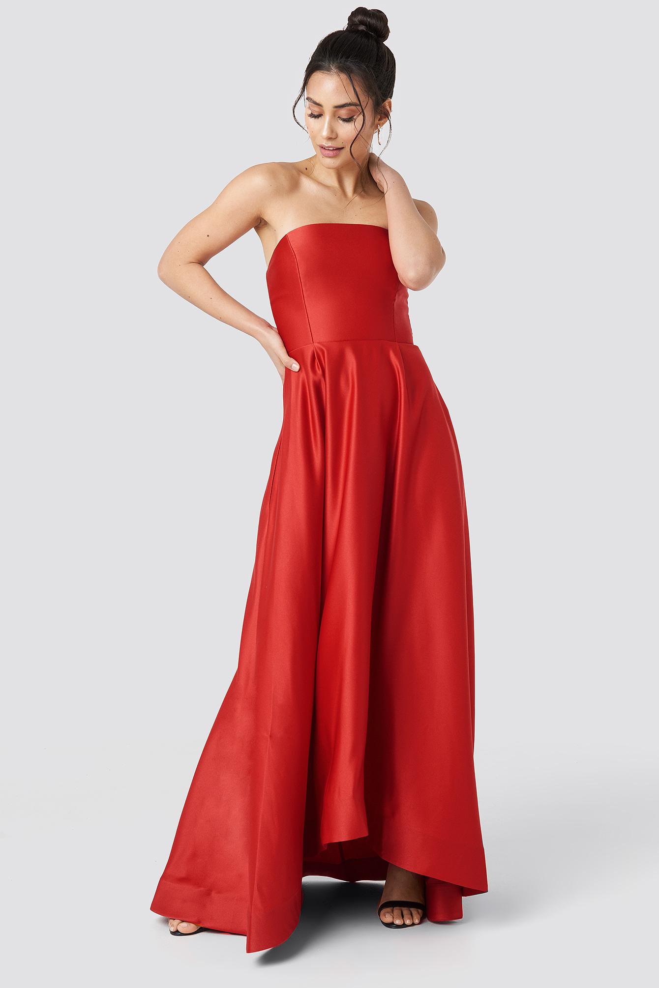Strapless Evening Dress NA-KD.COM