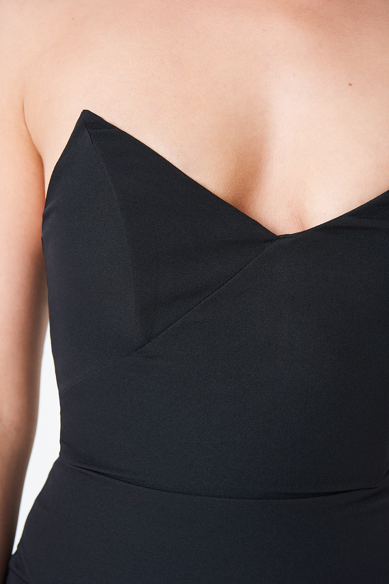 Strapless Little Black Dress NA-KD.COM