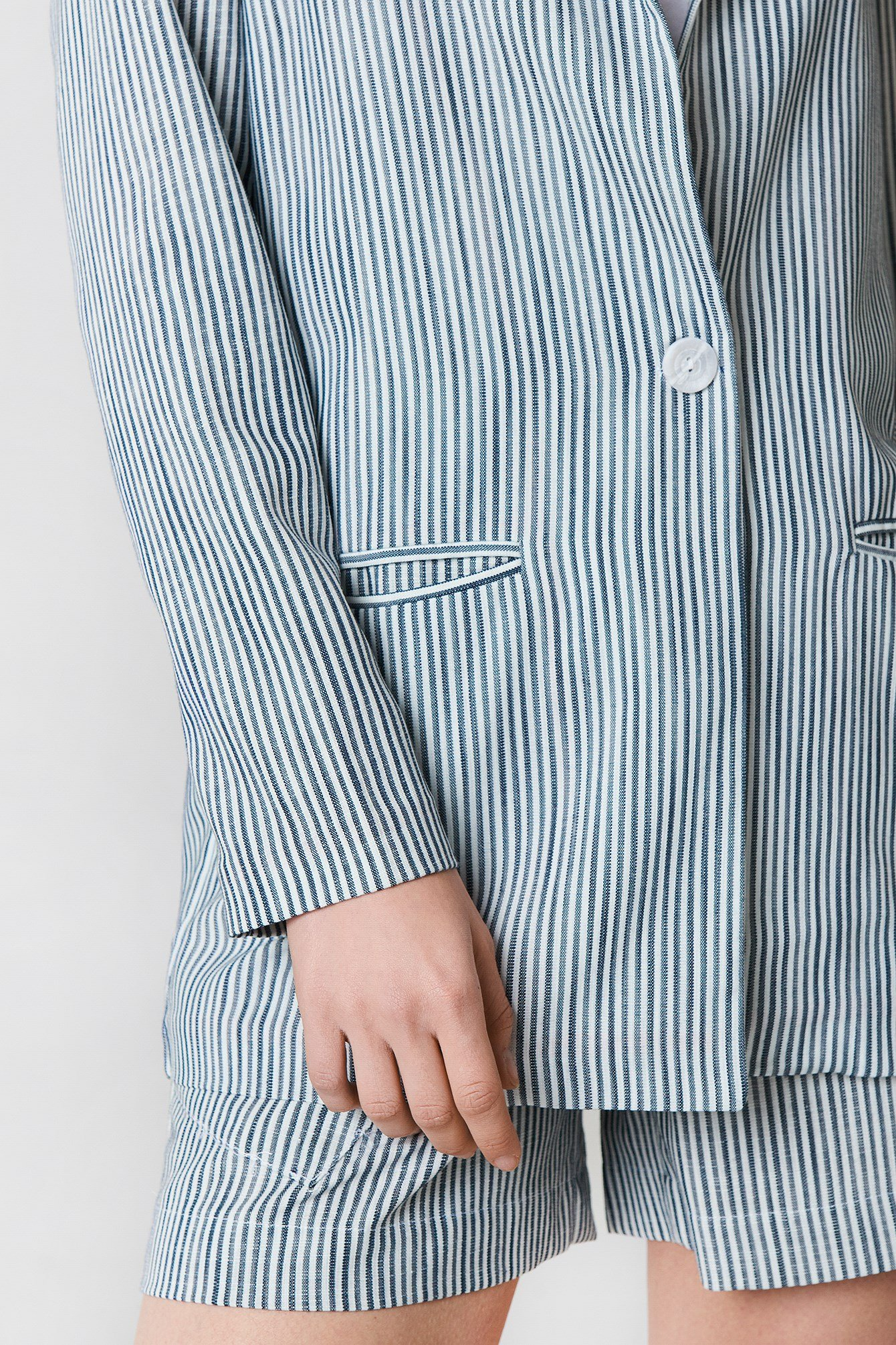 Stripe Detailed Jacket NA-KD.COM