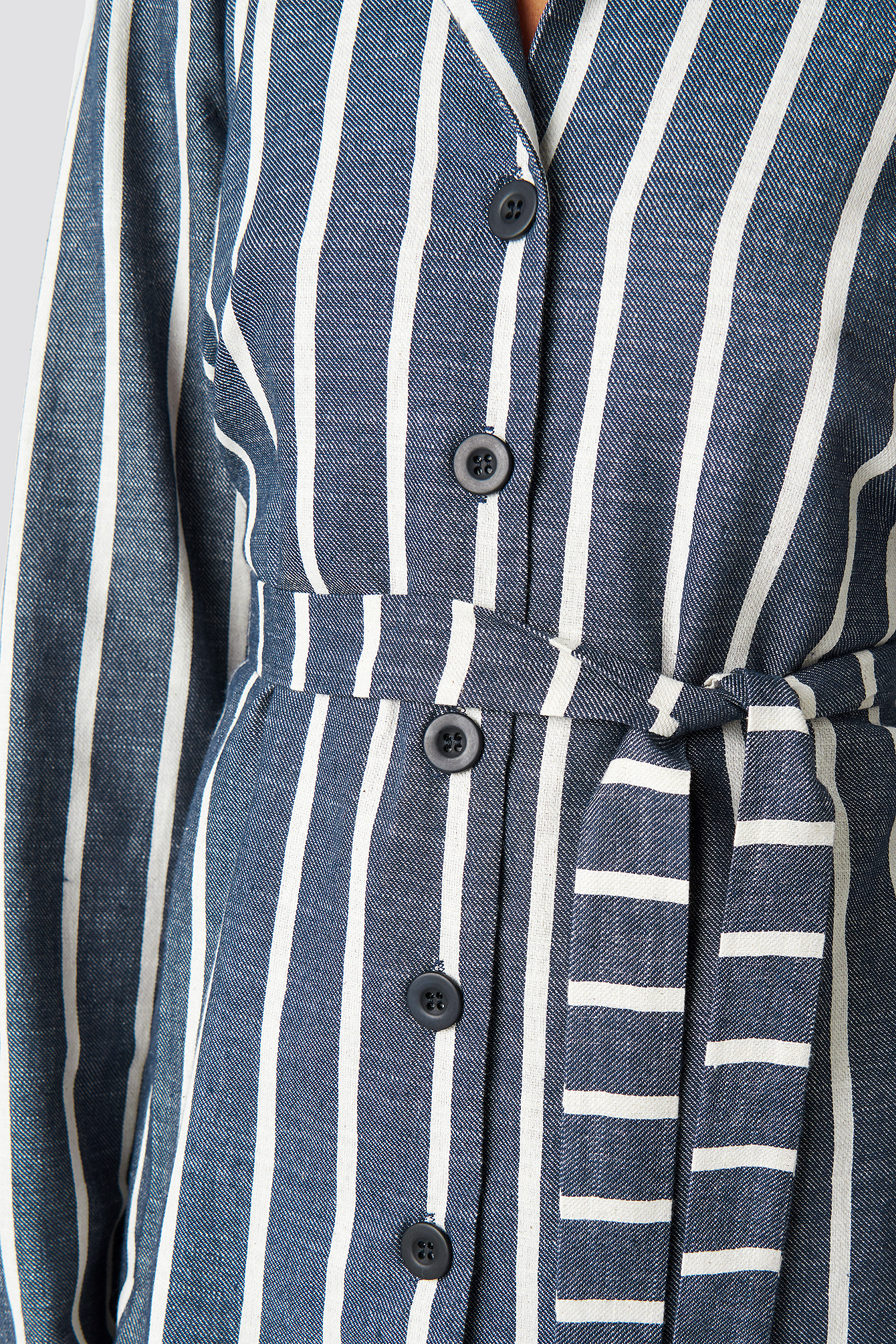 Striped Binding Detailed Blazer NA-KD.COM