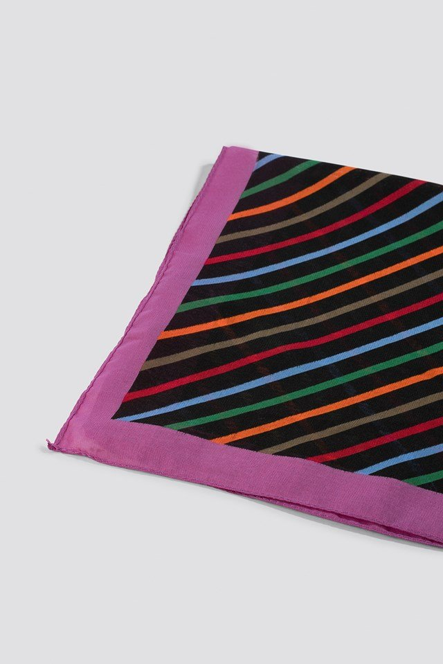 Chusta w paski Multicolor