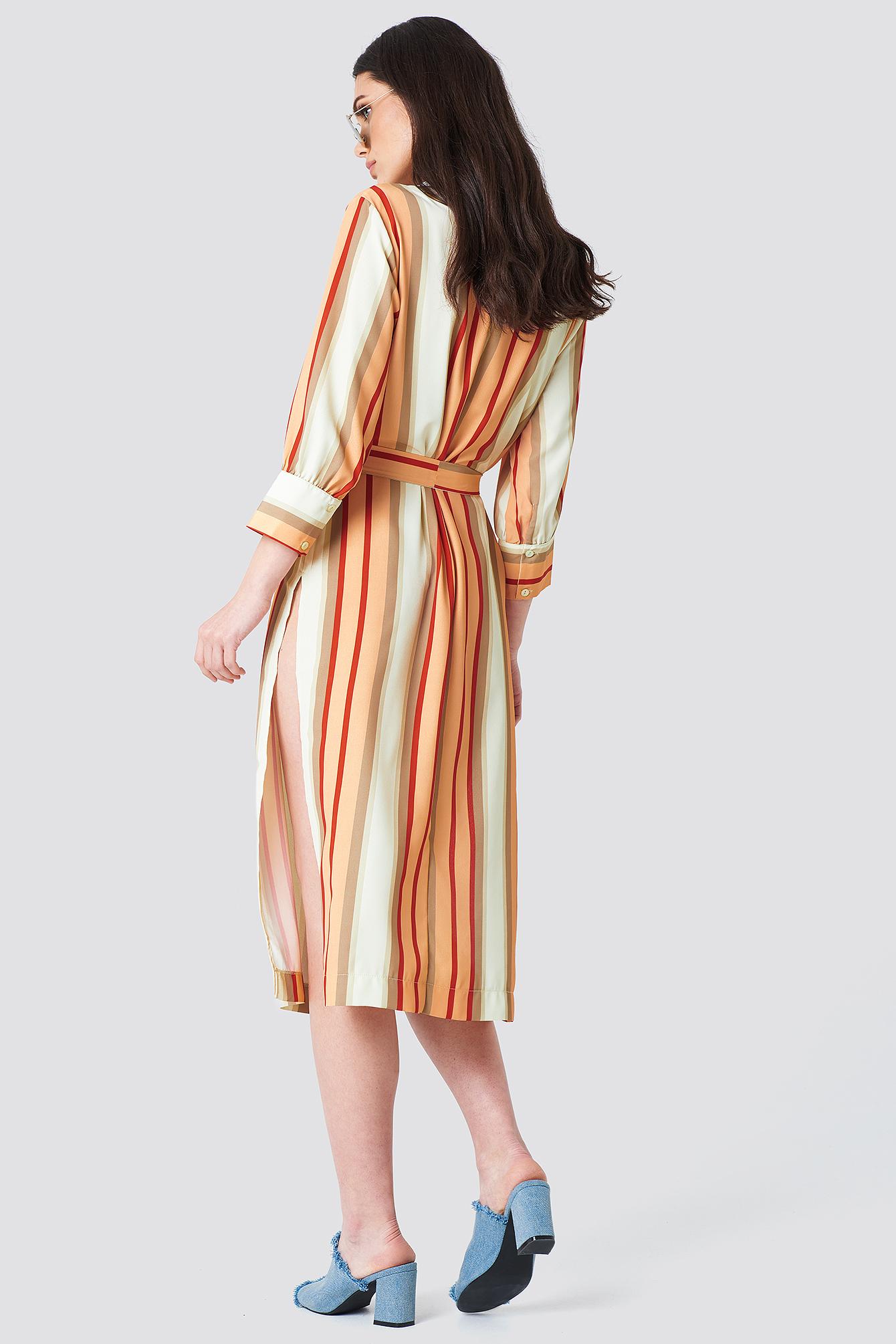 Striped Kimono NA-KD.COM