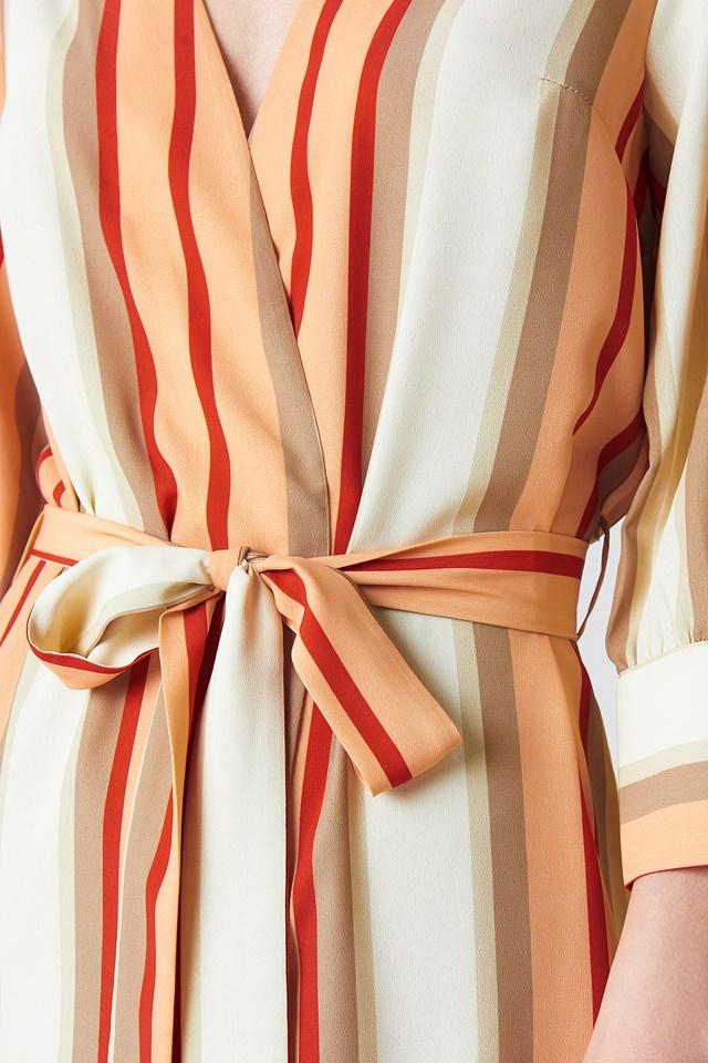 Striped Kimono Multicolor