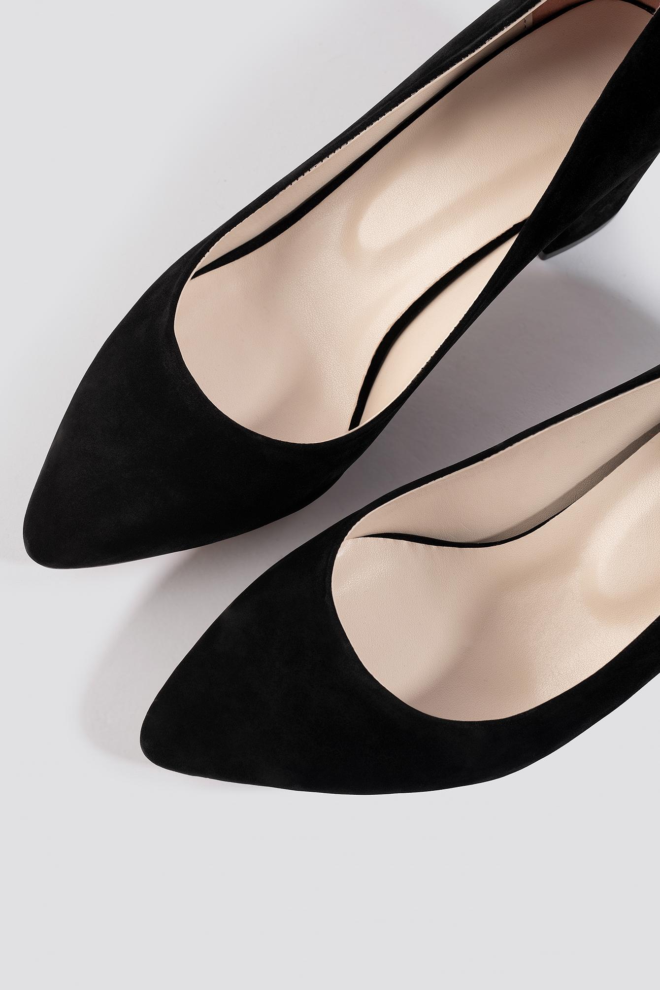 Suede Heels Shoes NA-KD.COM