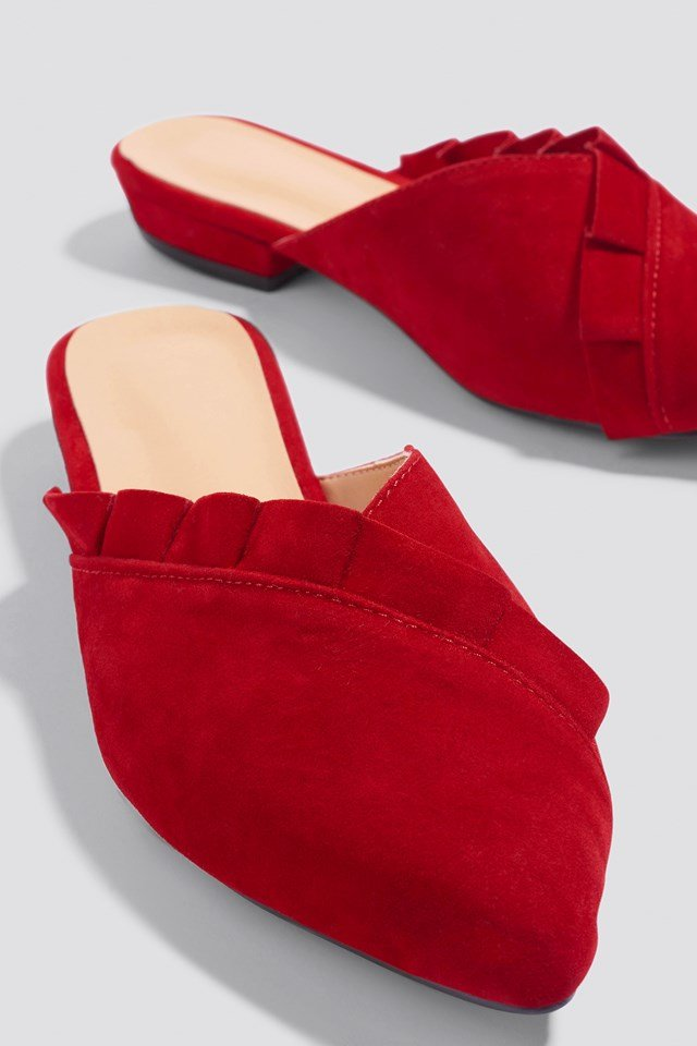 Suede Slippers NA-KD.COM