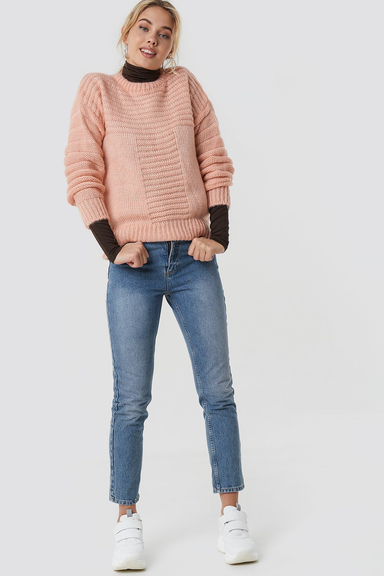 T Knitted Sweater NA-KD.COM
