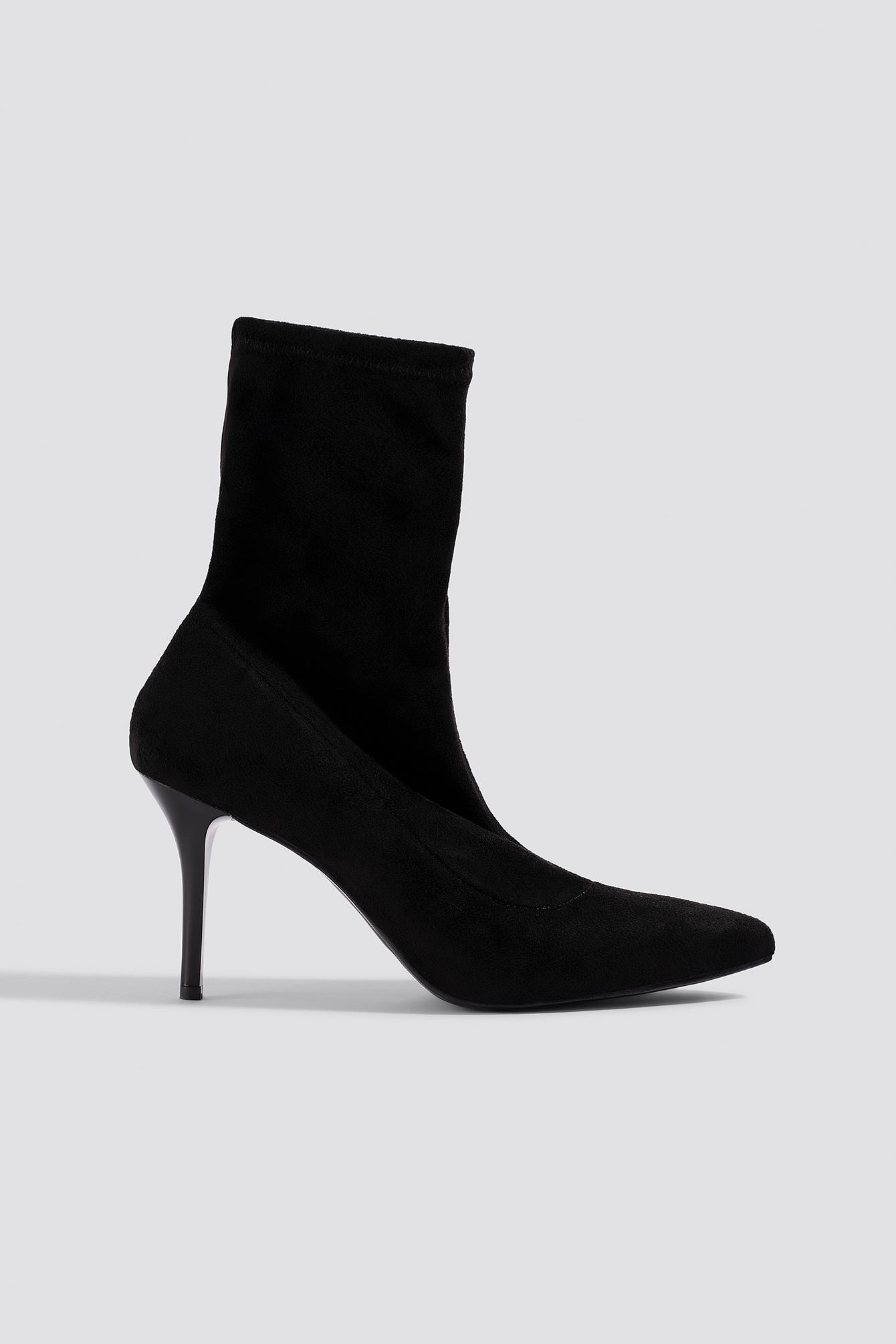 TRENDYOL Taka Sock Boots - Black
