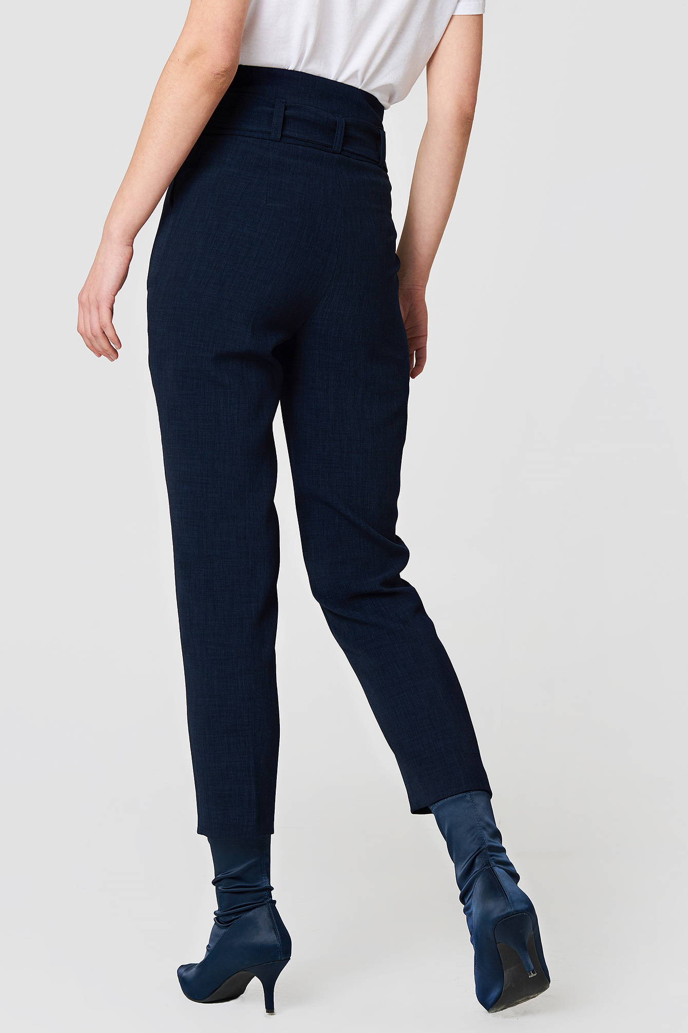Tied Highwaist Suitpants NA-KD.COM