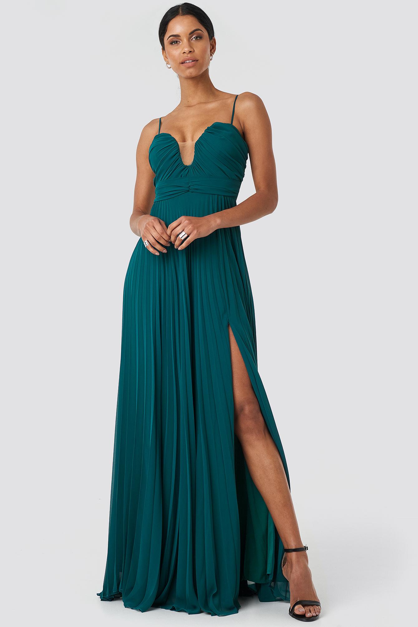 Tile Evening Dress NA-KD.COM