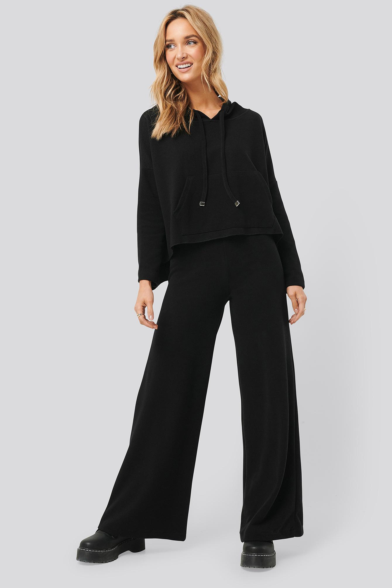 trendyol -  Trot Trousers - Black