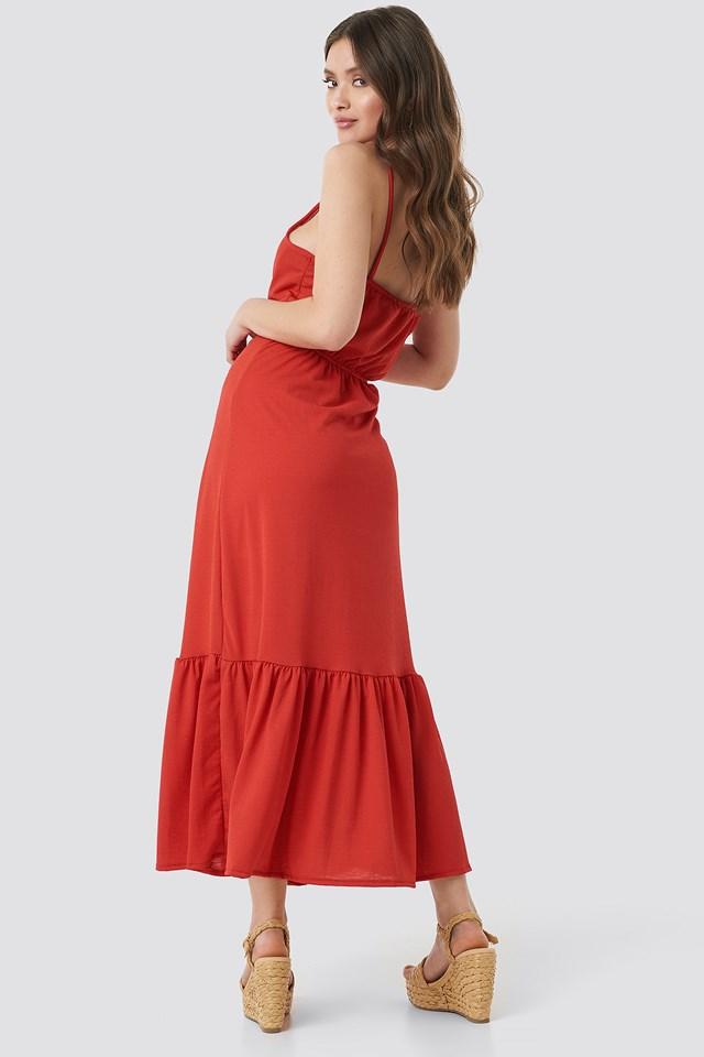 Tulum Maxi Dress Red