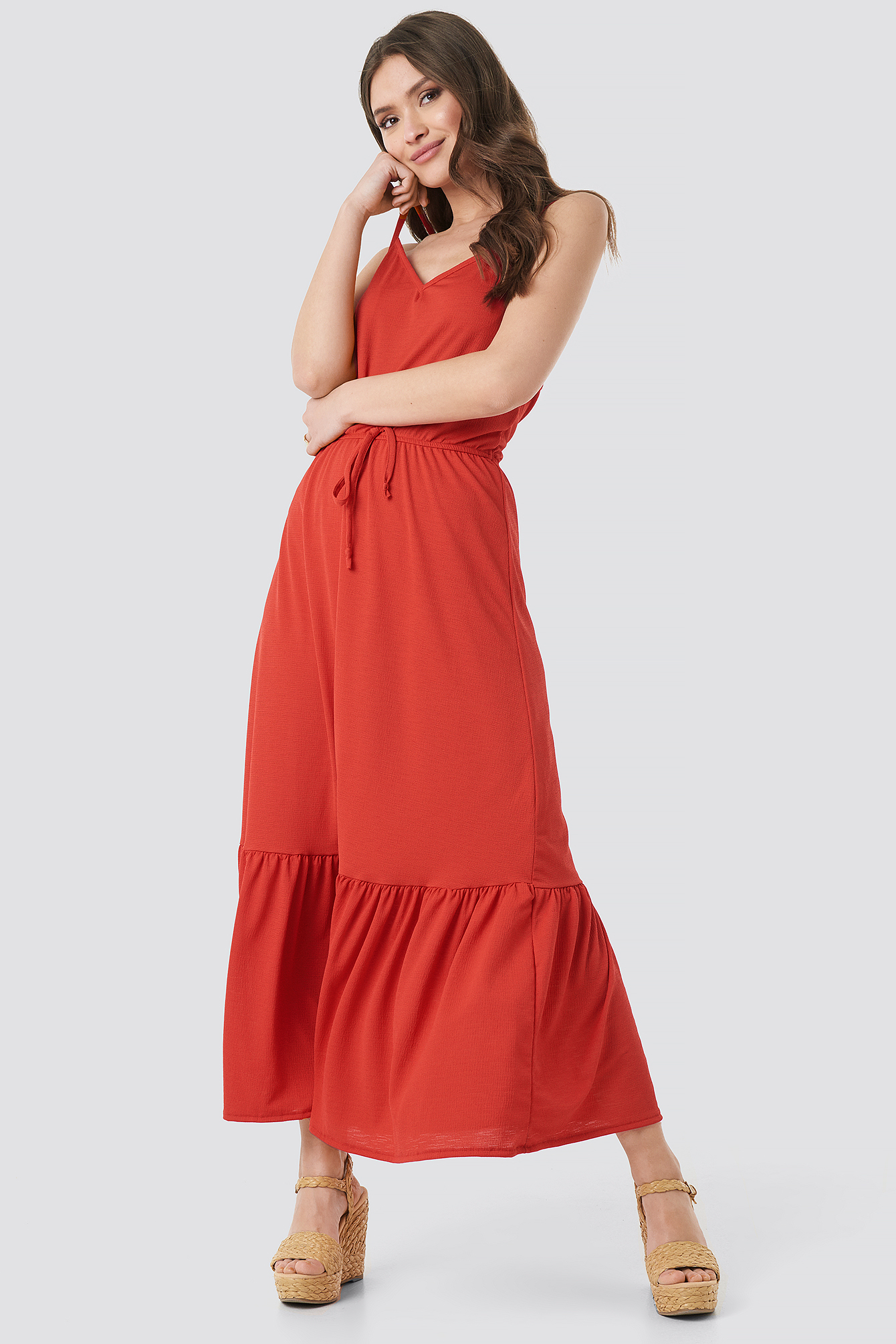 Tulum Maxi Dress NA-KD.COM