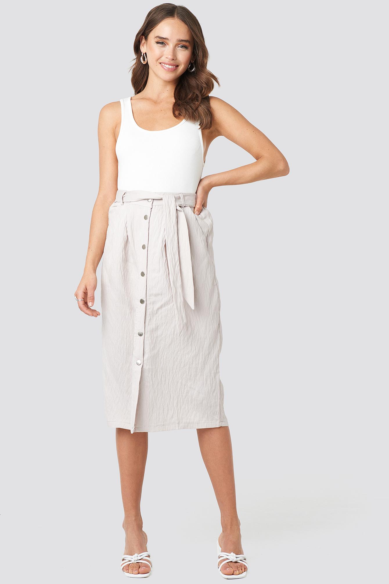 Tulum Midi Skirt NA-KD.COM