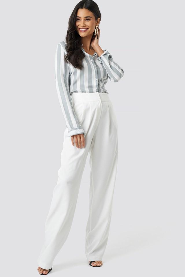 Tulum Striped Shirt Gray
