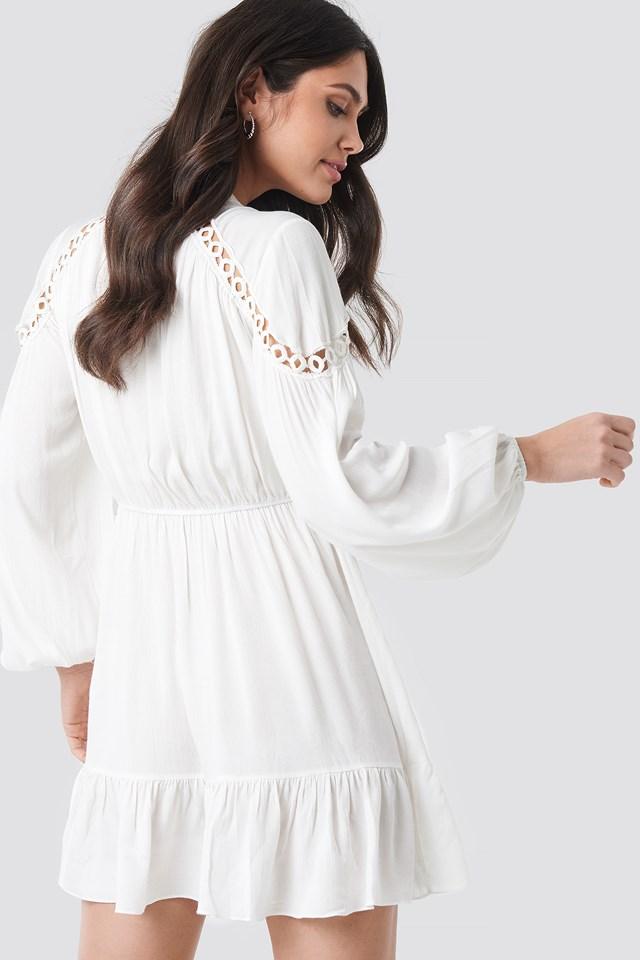Tulum Viscose Dress White