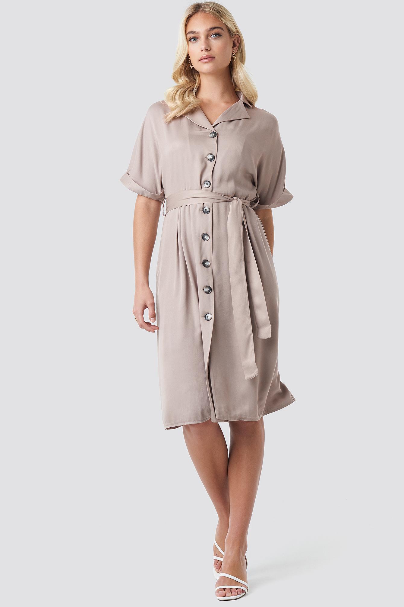 Tulum Binding Detail Dress NA-KD.COM