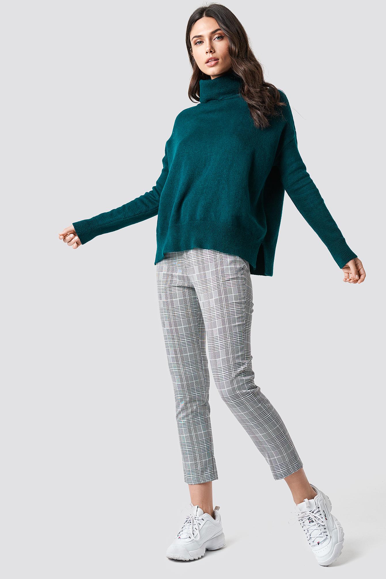 Turtle Neck Basic Sweater NA-KD.COM